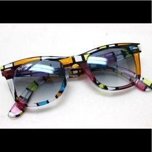 Ray-Ban Wayfarer Rare Print/Multicolored SunGlass